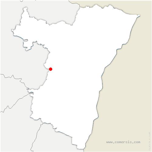 carte de localisation de Wangenbourg-Engenthal