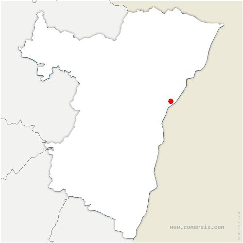 carte de localisation de Wantzenau