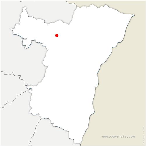 carte de localisation de Weinbourg