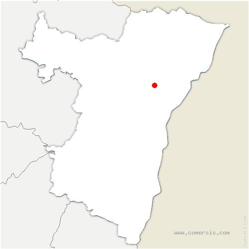carte de localisation de Weitbruch
