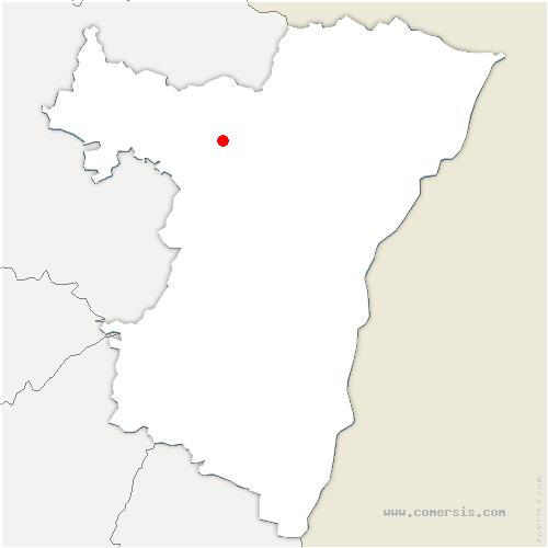 carte de localisation de Weiterswiller