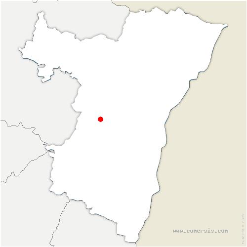 carte de localisation de Westhoffen