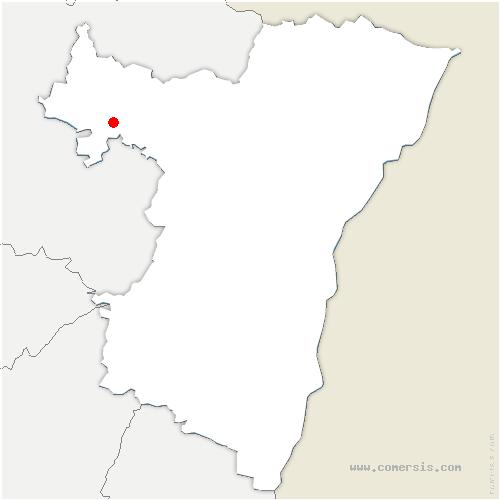 carte de localisation de Weyer
