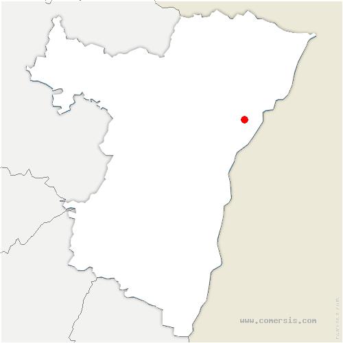 carte de localisation de Weyersheim