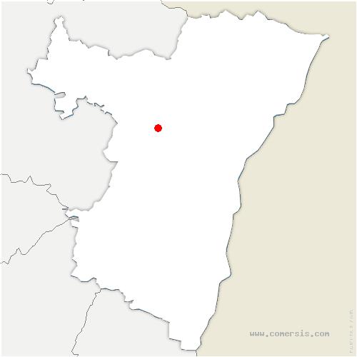 carte de localisation de Wilwisheim