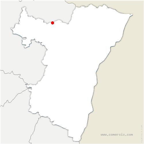 carte de localisation de Wimmenau