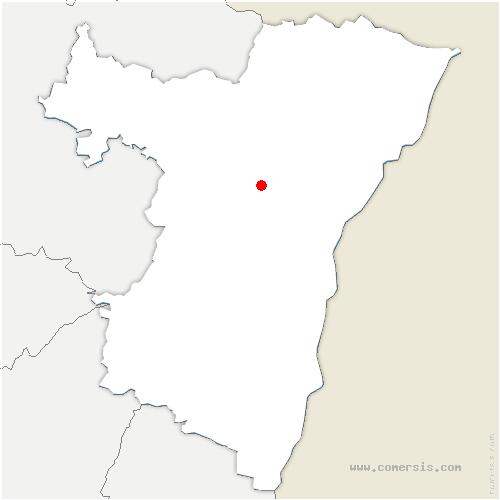 carte de localisation de Wingersheim-les-Quatre-Bans