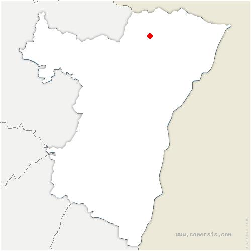 carte de localisation de Wœrth