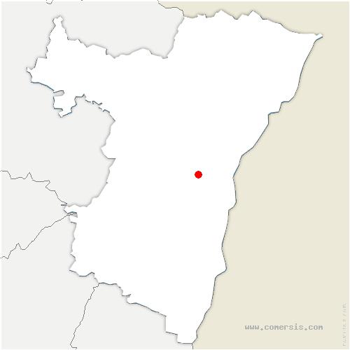 carte de localisation de Wolfisheim
