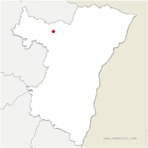 carte de localisation de Zittersheim