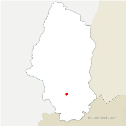 carte de localisation de Altkirch