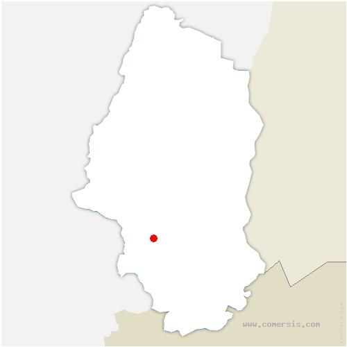 carte de localisation de Ammerzwiller