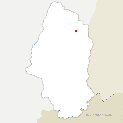 carte de localisation de Andolsheim
