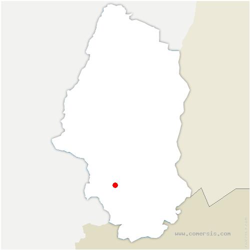 carte de localisation de Ballersdorf