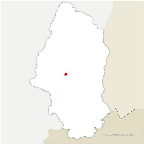 carte de localisation de Berrwiller