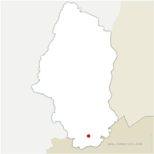 carte de localisation de Bouxwiller