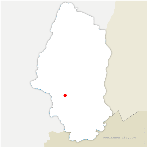 carte de localisation de Burnhaupt-le-Haut