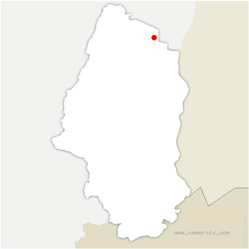 carte de localisation de Colmar