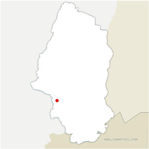 carte de localisation de Diefmatten