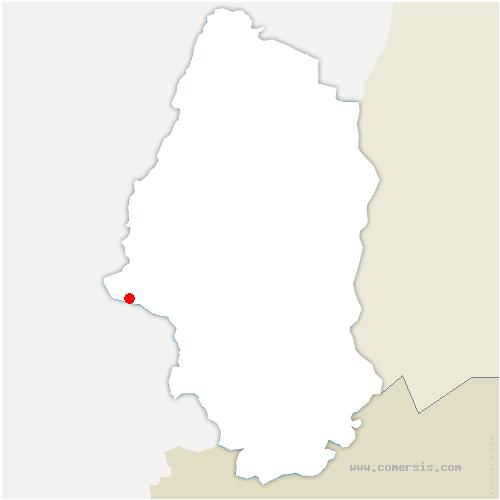 carte de localisation de Dolleren