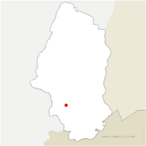 carte de localisation de Eglingen
