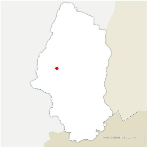 carte de localisation de Geishouse
