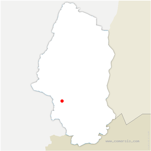 carte de localisation de Gildwiller