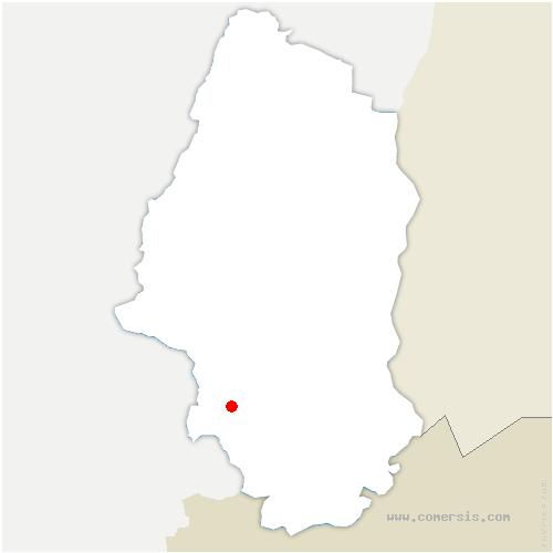 carte de localisation de Gommersdorf