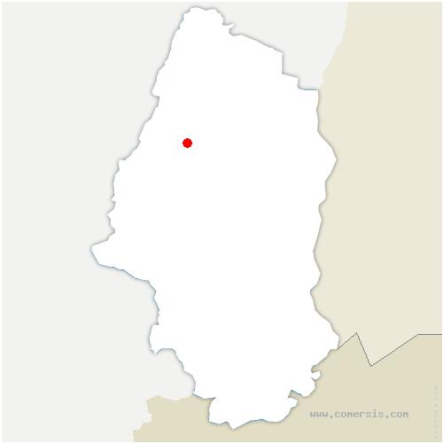 carte de localisation de Griesbach-au-Val
