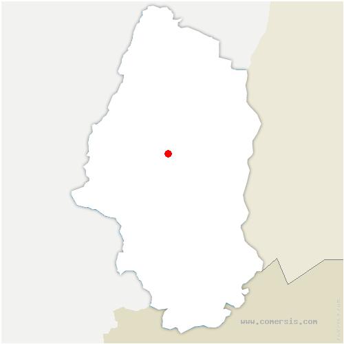 carte de localisation de Guebwiller