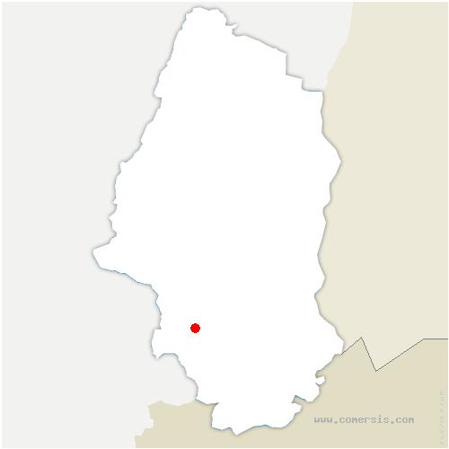 carte de localisation de Hagenbach