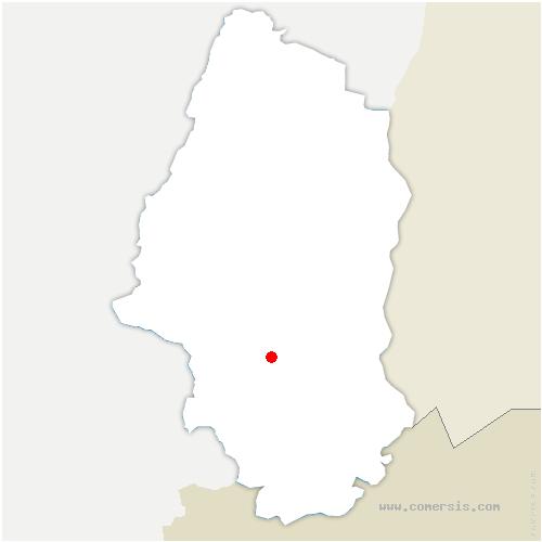 carte de localisation de Heimsbrunn