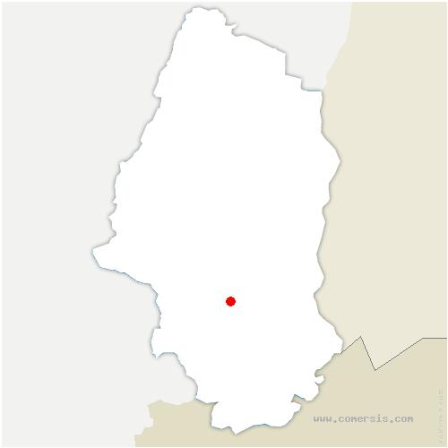carte de localisation de Hochstatt