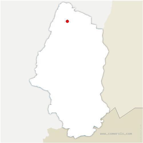 carte de localisation de Kaysersberg-Vignoble