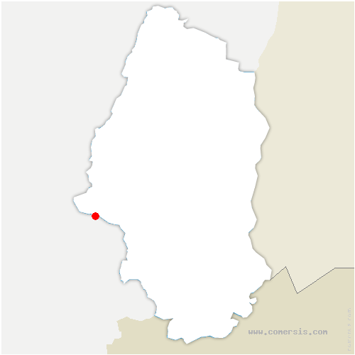 carte de localisation de Kirchberg