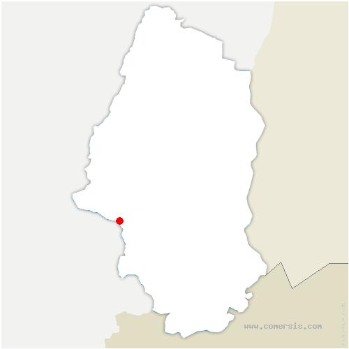 carte de localisation de Lauw