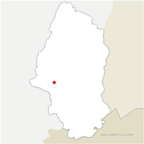 carte de localisation de Leimbach