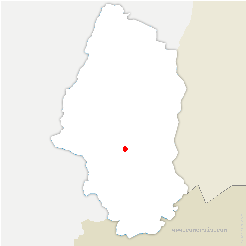 carte de localisation de Lutterbach