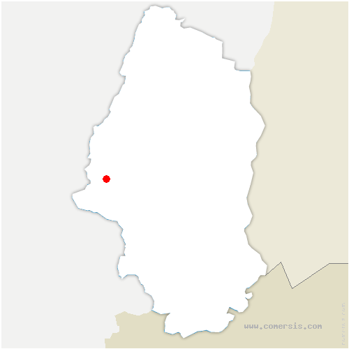 carte de localisation de Mitzach