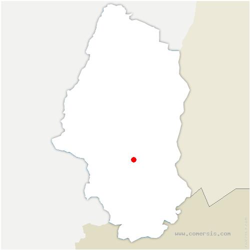 carte de localisation de Morschwiller-le-Bas
