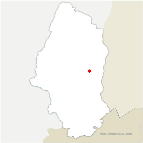 carte de localisation de Munchhouse