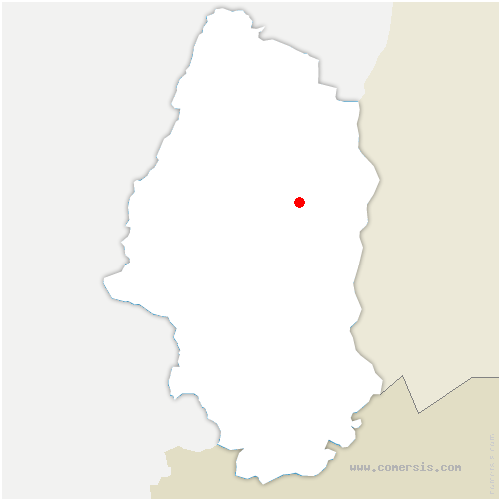 carte de localisation de Niederentzen