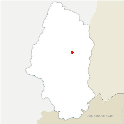 carte de localisation de Oberentzen