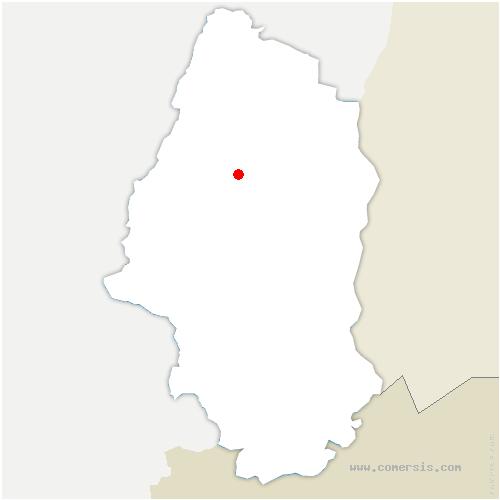 carte de localisation de Osenbach
