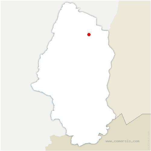 carte de localisation de Porte-du-Ried