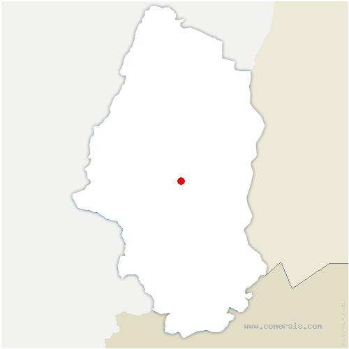 carte de localisation de Pulversheim