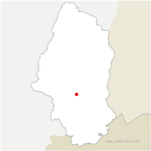 carte de localisation de Reiningue