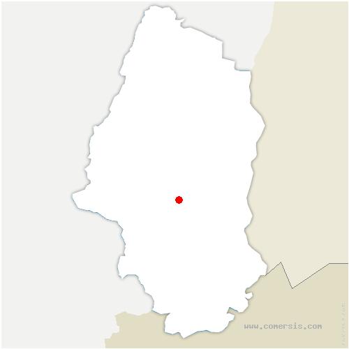 carte de localisation de Richwiller