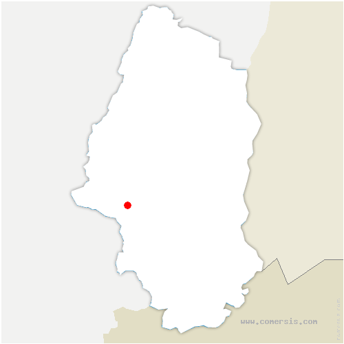 carte de localisation de Roderen