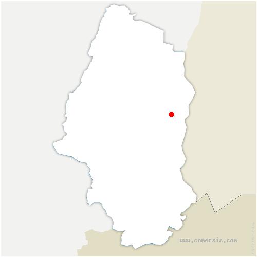 carte de localisation de Roggenhouse